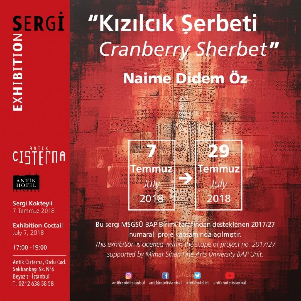 Kızılcık Şerbeti –  Cranberry Sherbet