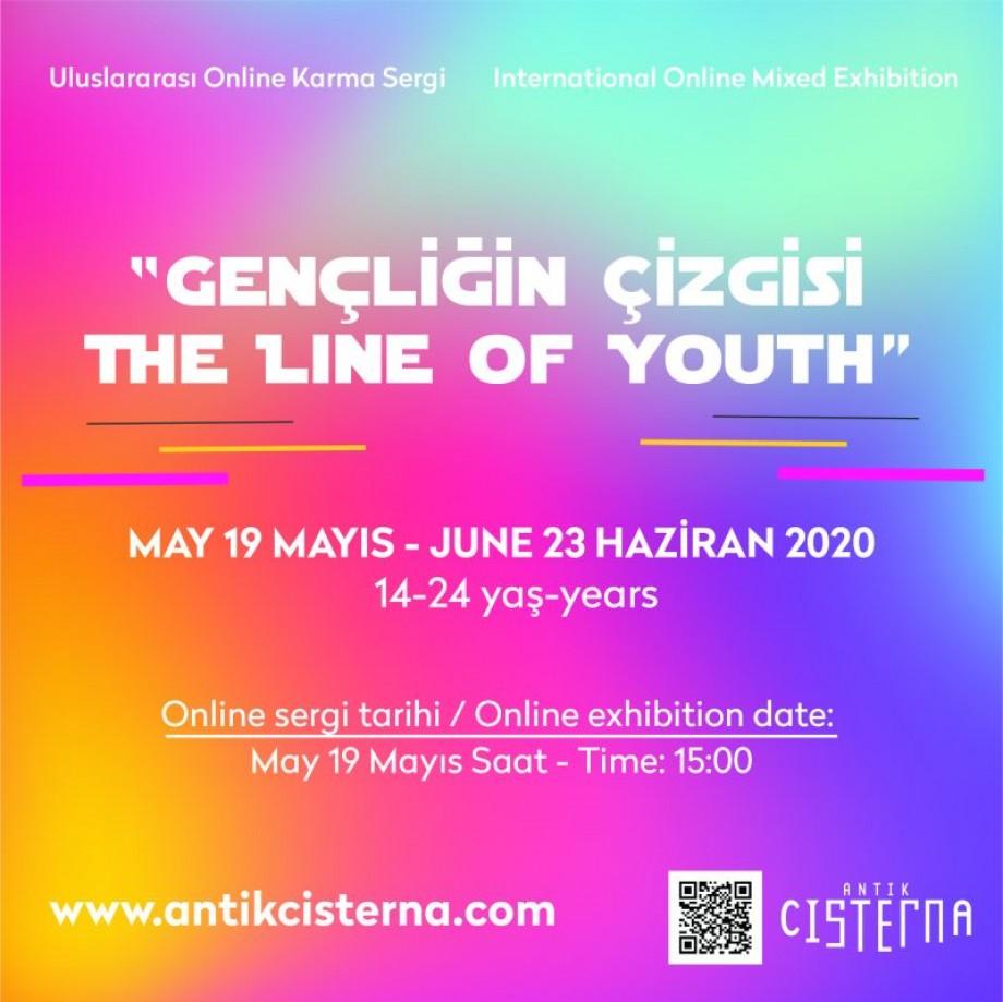 """""""Gençliğin Çizgisi"""" Uluslararası Online Karma Sergi Lise ve Üniversite Öğrencileri (14 – 24 yaş) """"19 Mayıs – 23 Haziran 2020"""""""