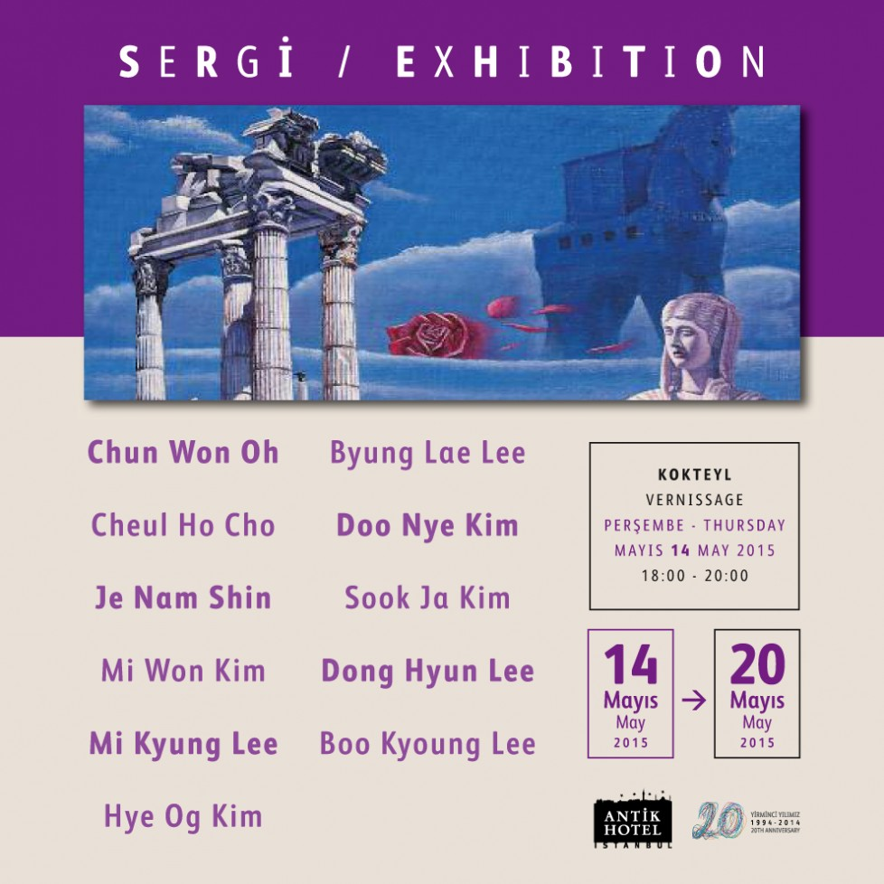 Güney Kore sanatçıları İstanbul'da / South Korean artists are in Istanbul
